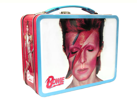David Bowie Aladdin Sane Embossed Tin Tote