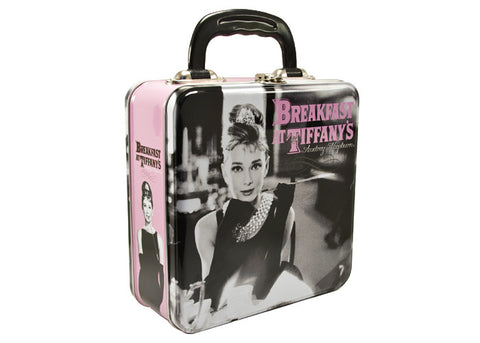 Audrey Hepburn Breakfast at Tiffany's Tin Tote
