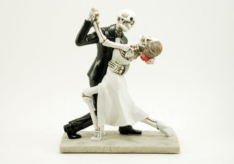 Bride and Groom Dancing Love Never Dies Figurine
