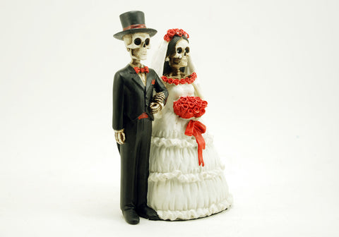 Bride and Groom Love Skeleton Figurine Xenos Gifts