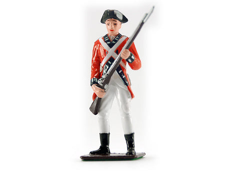 British Infantryman Metal Soldier