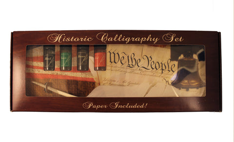 Historic Calligraphy Set (Includes 4 Inks)