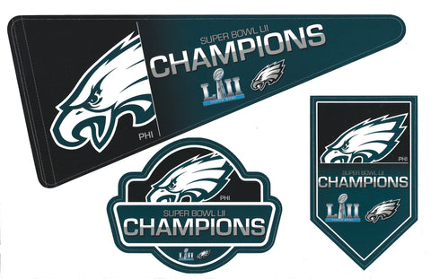 Philadelphia Eagles Super Bowl LII Champs Magnet Set