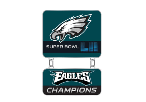 Philadelphia Eagles Super Bowl LII Champs Dangler Pin