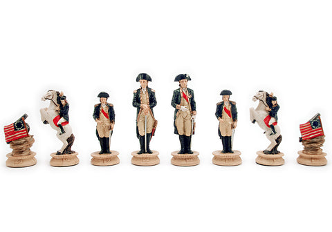 "American Revolution Chess Set (3"")"