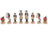 "American Revolution Chess Set (4"")"