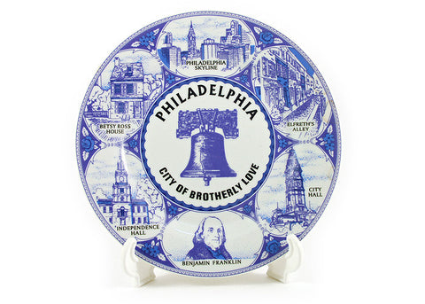 Philadelphia City of Brotherly Love Plate