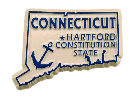 Connecticut State Magnet