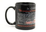 Independence Hall with Declaration Mug