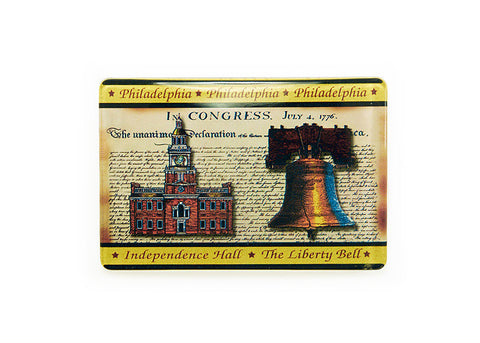 Liberty Bell & Independence Hall Magnet
