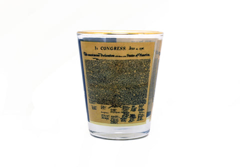 Declaration of Independence Shot Glass