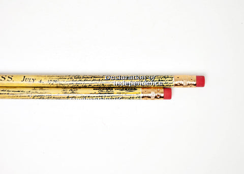 Declaration of Independence Pencil