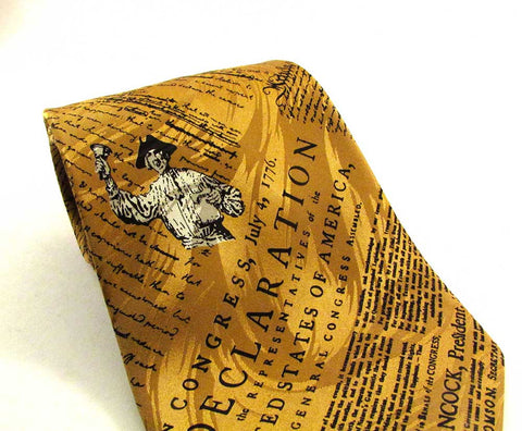 Declaration Gold Necktie