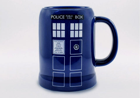 Doctor Who TARDIS 20 oz Stein Mug