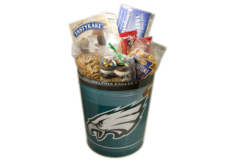 Philadelphia Eagles Grand Tin Box (3 Gal)