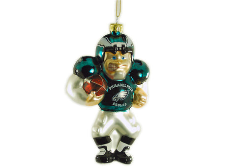 Philadelphia Eagles Glass Ornament