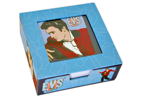 Elvis Presley Cube Stationery Pad
