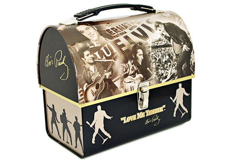 Elvis Presley Dome Tin Tote