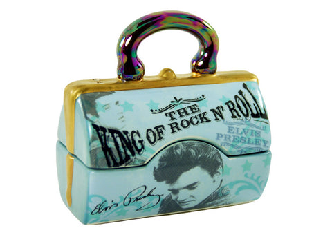 Elvis Presley Handbag Salt + Pepper Set