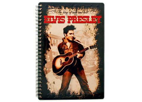 Elvis Presley King of Rock & Roll Tin Notebook