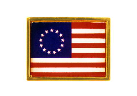 13 Star US Flag Lapel Pin (A)