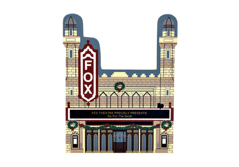 Christmas at Fox Theatre (Cat's Meow Village )