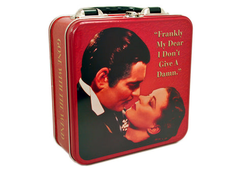 Gone With The Wind Square Tin Tote