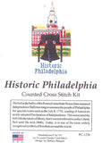 Historic Philadelphia Cross Stitch Kit