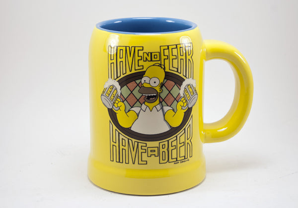 The Simpsons Homer Have No Fear Have A Beer Mug