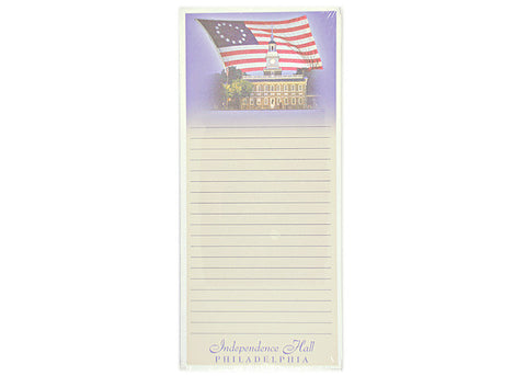 Independence Hall Magnetic Memo Pad