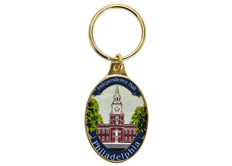 Independence Hall Daytime Keychain