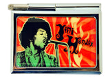 Jimi Hendrix Metal Notepad with Pen