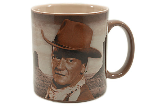 John Wayne A Man's Got To Do 12 oz Mug