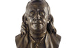 Benjamin Franklin Bust 11'' (Bronze finished)