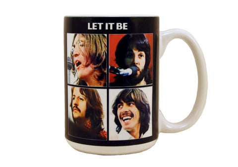 The Beatles Let It Be 15 oz Mug