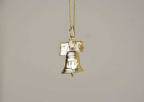Liberty Bell Necklace (Large)