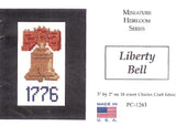Liberty Bell Cross Stitch (Small)