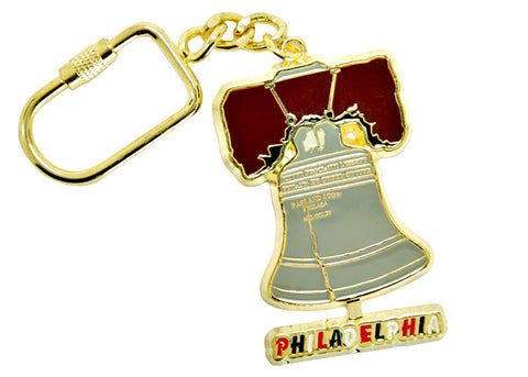 Liberty Bell Swinging Keychain