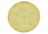 Double Eagle $20 Gold jumbo Coin 3""