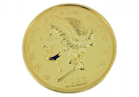 "Double Eagle $20 Gold Jumbo 3"" Coin"