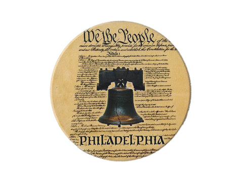 Liberty Bell Set of 4 Ceramic Coasters