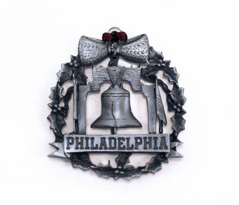 Liberty Bell Pewter Ornament