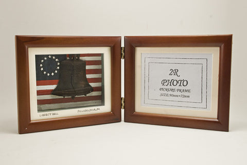 Liberty Bell & Betsy Ross Flag Picture Frame