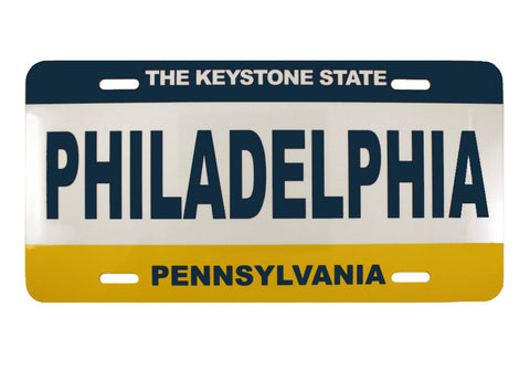 Philadelphia License Plate