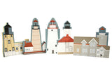 Postage Stamp Lighthouse Series Limited Edition (Cat's Meow Village)