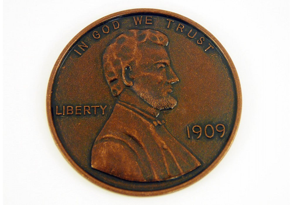 1909 Wheat Penny Jumbo Coin 3 Xenos Gifts