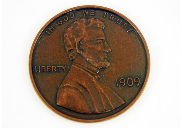 1909 Wheat Penny Jumbo Coin 3