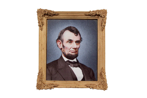 Abraham Lincoln Framed Portrait Magnet