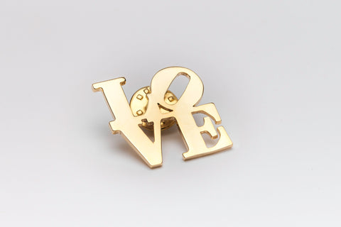 LOVE Cut-Out Lapel Pin