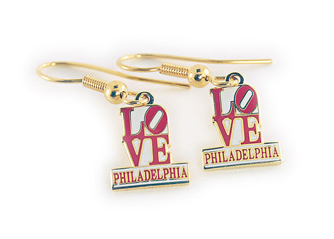 LOVE Philadelphia Earrings
